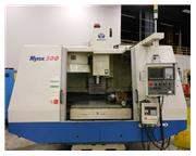 "2001 DAEWOO MYNX 500 CNC 4-AXIS VMC WITH FANUC 21M, 40"" X 20"" X 2"