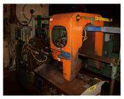 "2"" MODERN MODEL 2-K CUT OFF MACHINE WITH 20'AUTOMATIC BAR FEEDER ,"