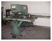 15 Ton, W.A. Whitney 615 Hydraulic Fabricator, holders, micrometer gauge, duplic