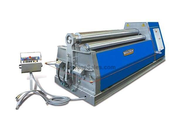 "122"" WIDTH 0.55"" THICKNESS Baileigh PR-10500-4 NEW BENDING ROLL, 1/2"" x 10' 4-Roll Bending Roll Made in Italy"