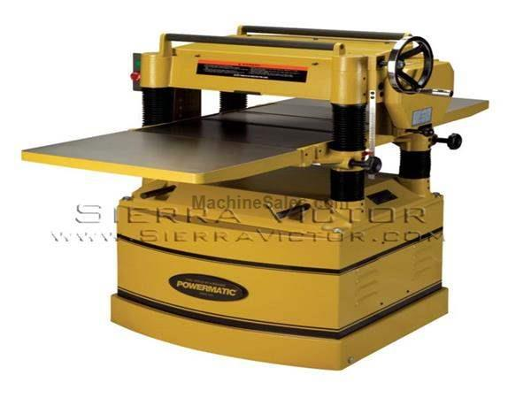 POWERMATIC 209HH-1 Planer 5HP 1PH 230V w/Helical Head 1791315