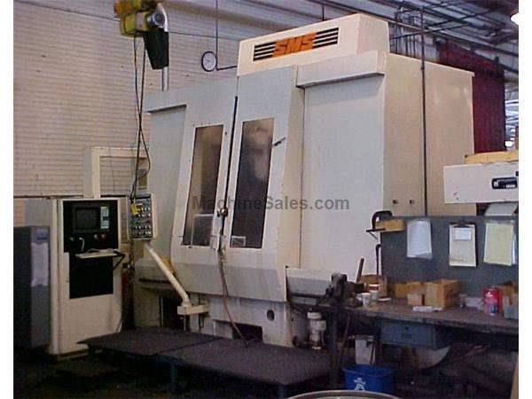 SMS V1000 CNC 4-Axis Vertical Turning Center