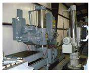 "5' X 15"" Used Giddings & Lewis Double Base Radial Drill"