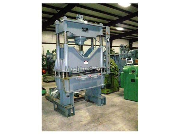 Used 75 Ton Used K R  Wilson Hydraulic Press for sale - 78124