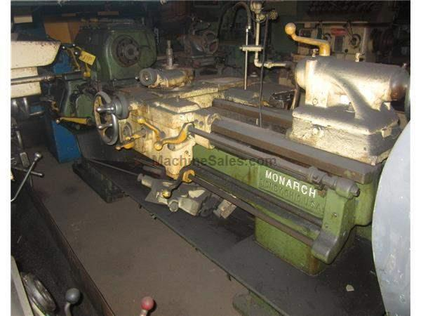 "18"" X 54"" MONARCH ENGINE LATHE:  STOCK #5955"