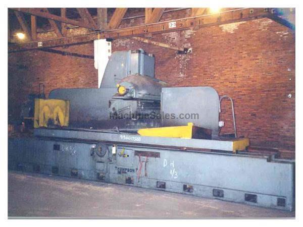 "36"" X 120"" THOMPSON SURFACE GRINDER:  STOCK #8146"