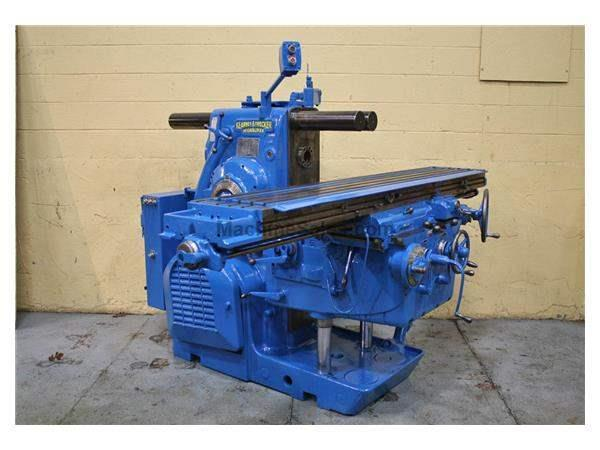 KEARNEY & TRECKER MODEL #5 HORIZONTAL MILL:  STOCK #12616