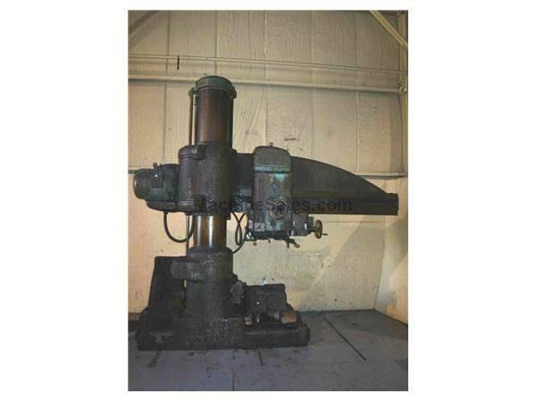 "7' X 17"" AMERICAN RADIAL DRILL:  STOCK #15381"