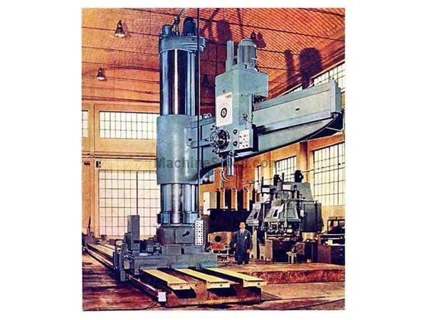 "13' X 36"" SASS RADIAL ARM DRILL:  STOCK #15890"