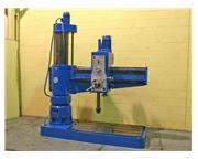 "5' X 15"" BERGONZI MODEL #TM1600 RADIAL DRILL: STOCK #51281"