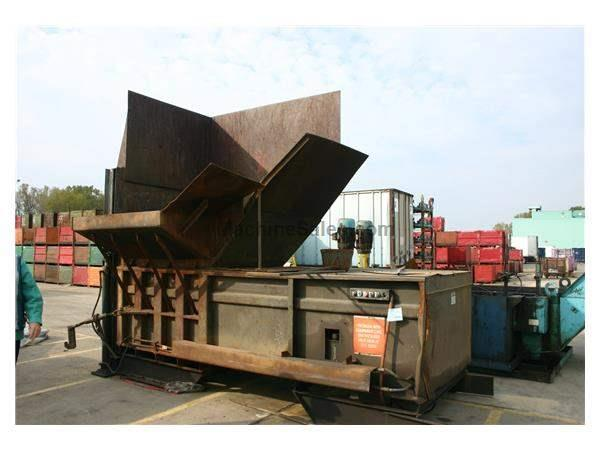 TRASH COMPACTOR & ROLLAWAY BOX:  STOCK #51328