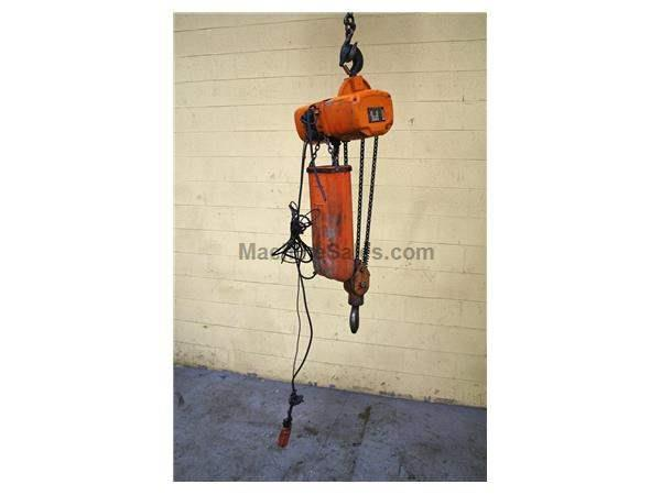3 TON JET CHAIN HOIST: STOCK #54807