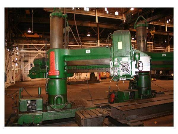 "8' X 19"" CARLTON RADIAL ARM DRILL: STOCK #55910"