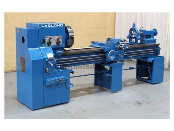 "19"" X 80"" LEBLOND ENGINE LATHE: STOCK #56205"