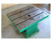"""36"""" X 30"""" X 20 T SLOTTED DRILL TABLE: STOCK #57205"""