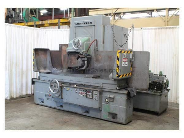 "14"" X 48"" MATTISON SURFACE GRINDER: STOCK 58362"