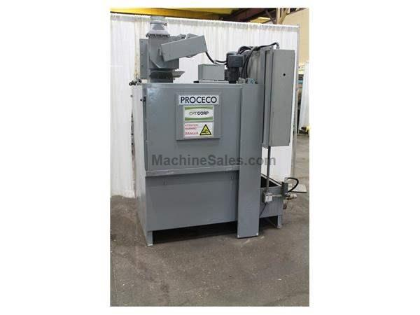 PROCECO MODEL 2X15-3600-10+1 PARTS WASHER: STOCK 58427