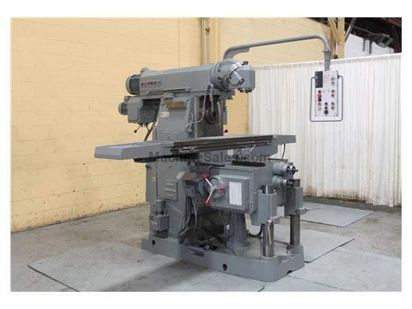 CORREA MODEL #CM-100 HORIZONTAL MILL WITH VERTICAL HEAD: STOCK #58445