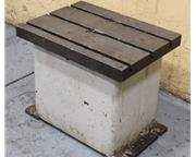 RADIAL DRILL BOX TABLE: STOCK # 58949