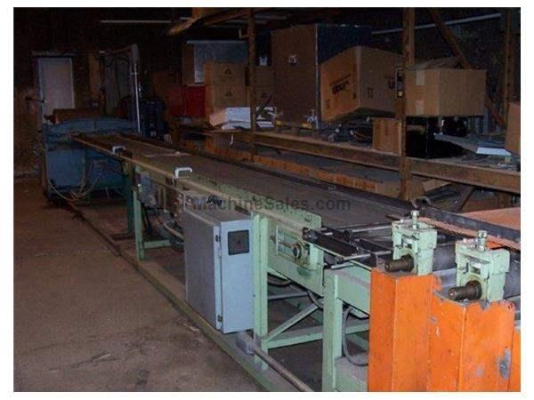Corrugated Metal Roof and Siding Line-Stacker, Conveyor, Shear, Uncoiler