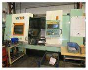 """21.65""""X 42.1"""" VICTOR (FORTUNE) MDL VTURN-36 2-AXIS CNC TURNING CE"""