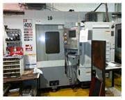 HAAS EC-400 4-AXIS PRECISION HORIZONTAL MACHINING CENTER