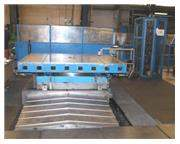 "Giddings & Lewis 72"" x 96"" Manual Rotary Table on CNC W Axis"