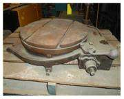 "24"" KEARNEY & TRECKER POWER & HAND ROTARY TABLE"