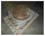 "24"" PRATT & WHITNEY POWER & HAND ROTARY TABLE"