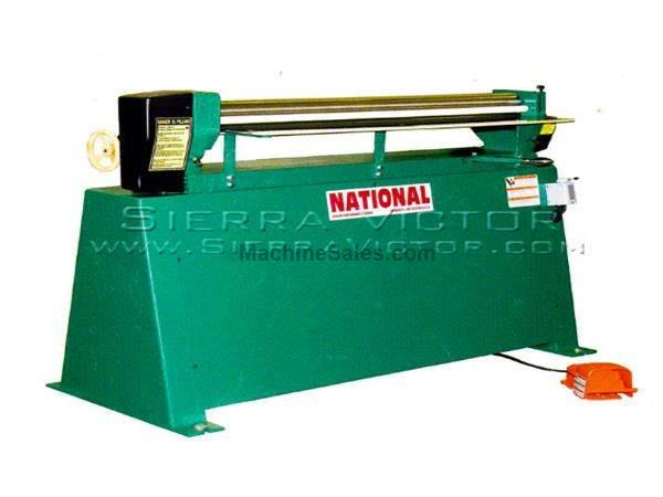 "48"" - 72"" x 16 ga NATIONAL® Power Roll Forming Machines"