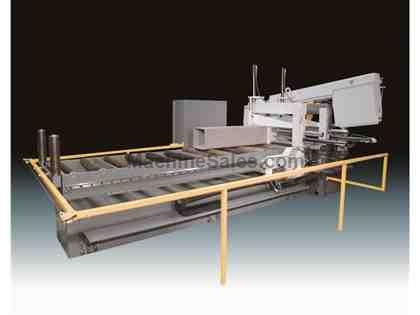 Hyd-Mech M-20A-120 Automatic Band Saw with Long Bar Feed
