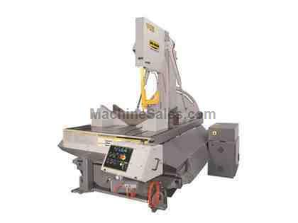 Hyd-Mech V-25 Semi-Automatic Vertical Band Saw