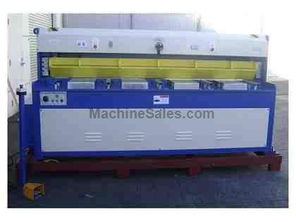 "0.1644"" Cap. 96"" Width GMC HS-0808E *Taiwan Made* NEW SHEAR, 8' x 8ga.; hydraulic; 24"" SIKO power BG; 10 hp"
