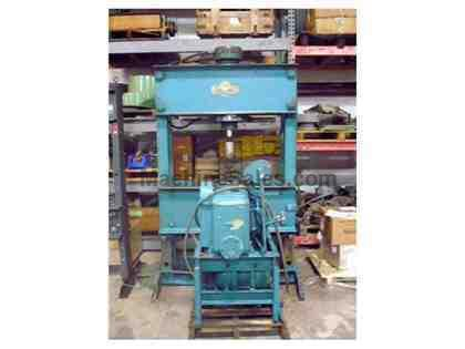 100 Ton Rodgers H Frame Hydraulic Press