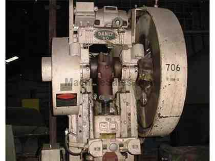 60 Ton Danly O.B.I. Punch Press