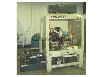 NAMCO, MODEL RV6, CNC ROTARY TRANSFER MACHINE (11495)