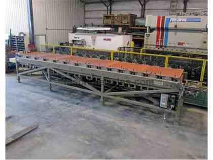 15 Stand Marion Trim Rollformer, Emerson VFD, tooling for (2) profiles