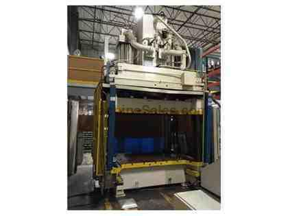 Used 300 TON HAMILTON DOWN-ACTING 4-POST HYDRAULIC PRESS for