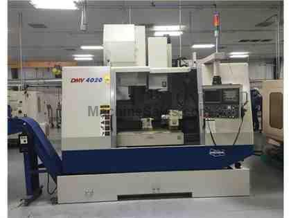 DOOSAN DMV 4020 CNC VERTICAL MACHINING CENTER (2008)