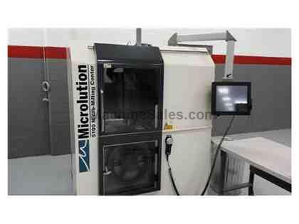 Microlution 5100-S 5-Axis CNC Micro Milling Machine (2011)