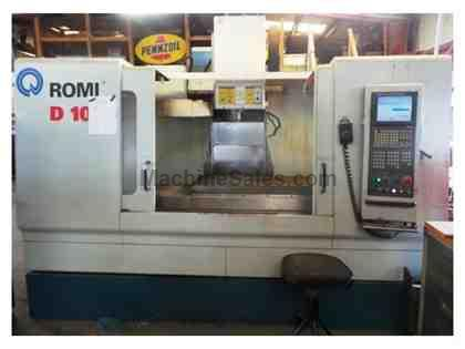 2003 ROMI D-1000 CNC VERTICAL MACHINING CENTER