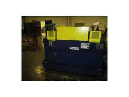 "3/8"" SHUSTER 2ABV STRAIGHTENER AND CUT OFF MACHINE"