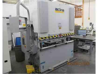 "55 Ton x 79"" ADIRA Down Acting Hydraulic Brake Press w/CNC BG, 2000"
