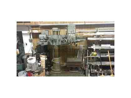 "Cincinnati Bickford 9"" Column Radial Arm Drill"