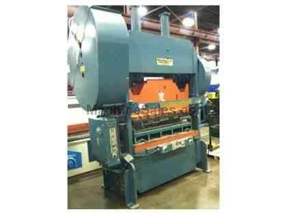 ROUSSELLE 100 TON STRAIGHT SIDE DOUBLE CRANK PUNCH PRESS