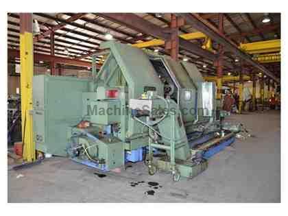 Used Mazak SL 60MC, Used 1987 Mazak Slant Turn 60 Mill Center for