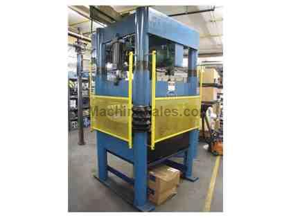 Beckwood 4P31F4238 4-Post Hydraulic Press (2000)  31 Ton