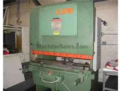 "LVD 30 Ton x 49"" Hyd. Press Brake (1979) Model 35BH-04, s/n 8567"
