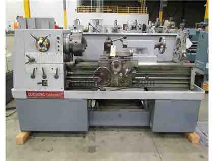 "CLAUSING COLCHESTER 8050 GEARED HEAD STRAIGHT BED ENGINE LATHE, 17"" X"