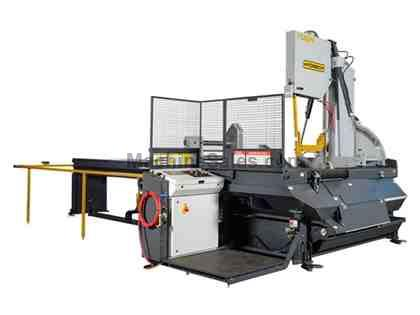 "NEW - 30""H x 25""W HYD-MECH V-25APC SEMI-AUTOMATIC VERTICAL TILT FRAME BAND SAW"